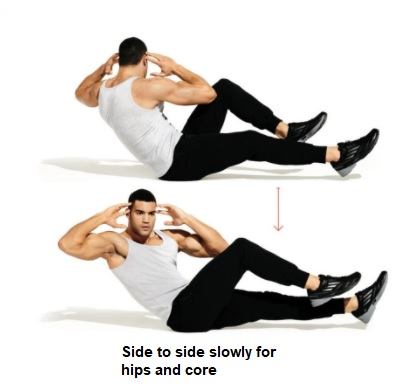 hips and core